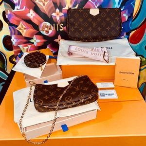 💞💞💞Authentic Louis Vuitton Multi Pochette